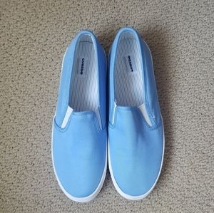 Lands' End Slip On Canvas Sneakers